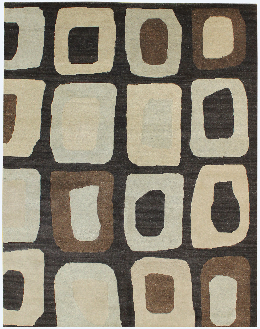 Geodes Handwoven Contemporary Rug