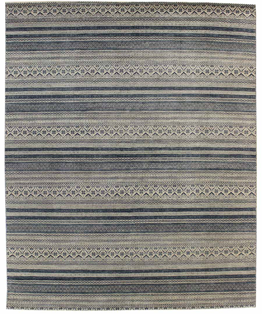 Guards Handwoven Contemporary Rug