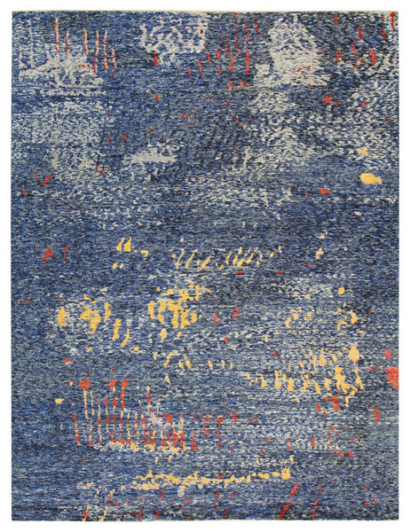 Kathleen George Handwoven Contemporary Rug