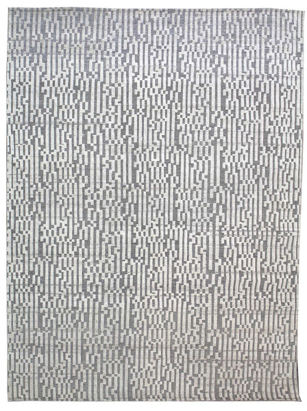Labyrinth Handwoven Contemporary Rug