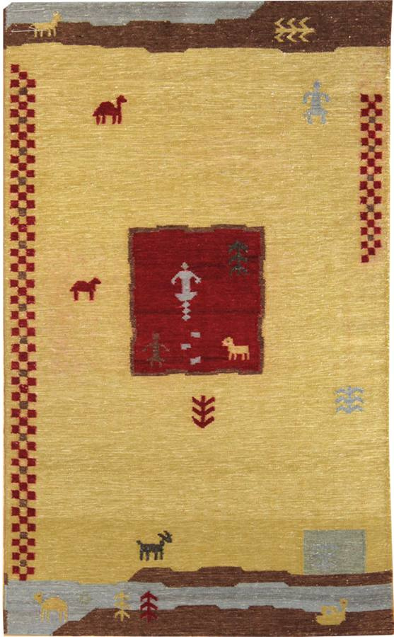 Landscape Handwoven Contemporary Rug