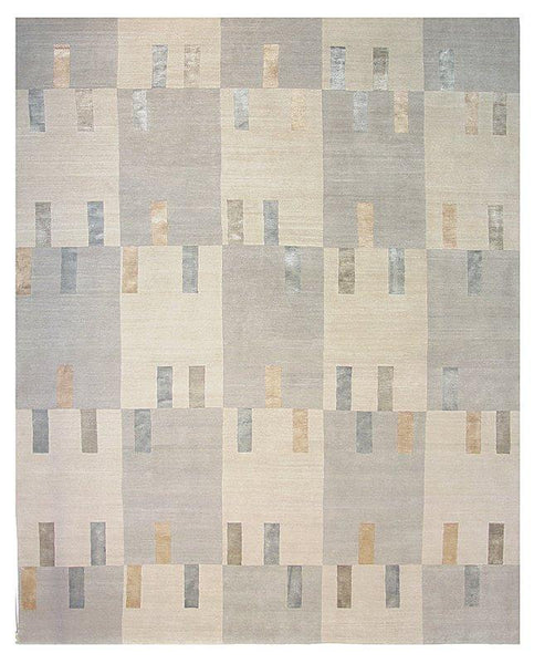Pebble Beach Handwoven Contemporary Rug
