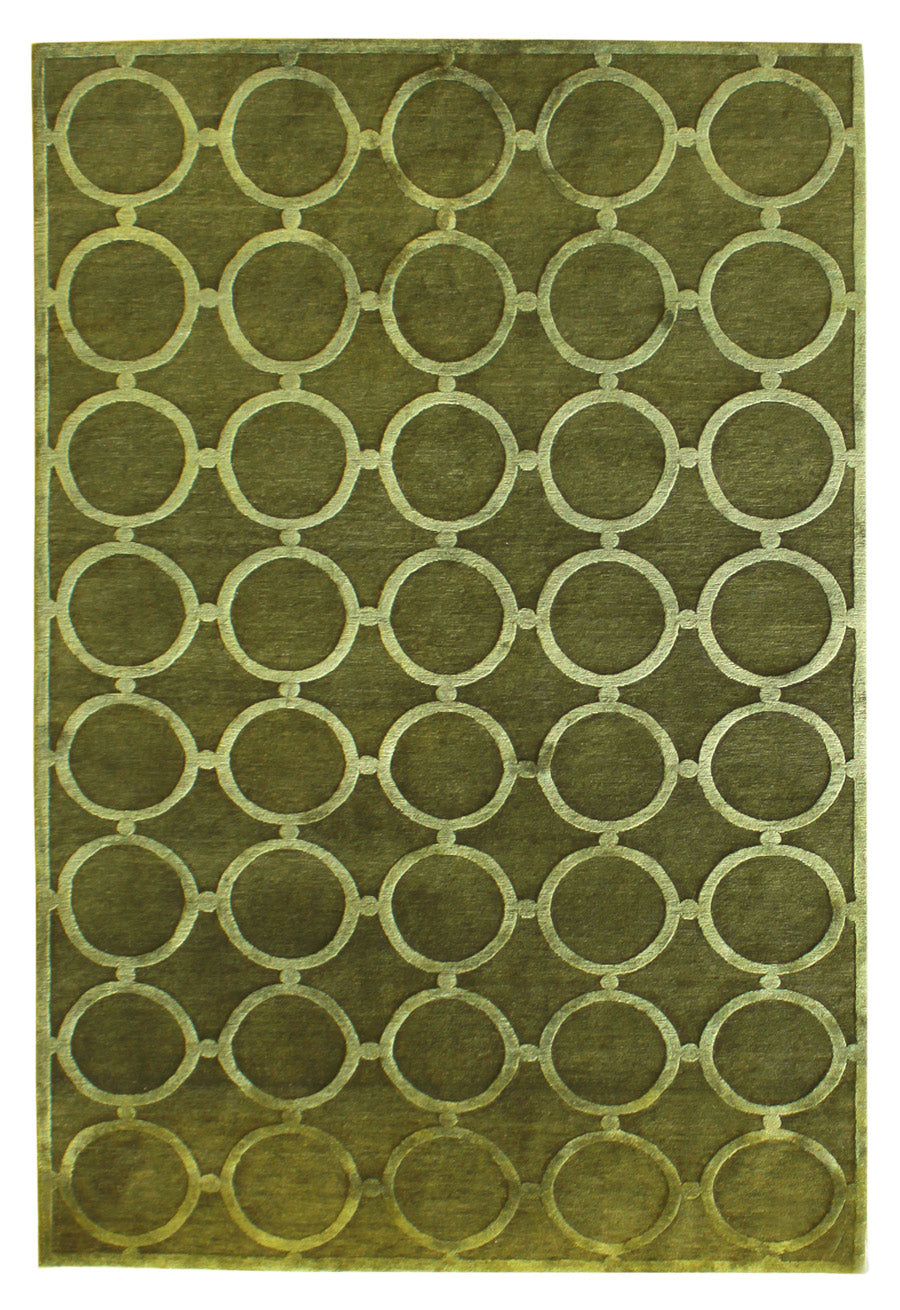 Spectacles Handwoven Contemporary Rug