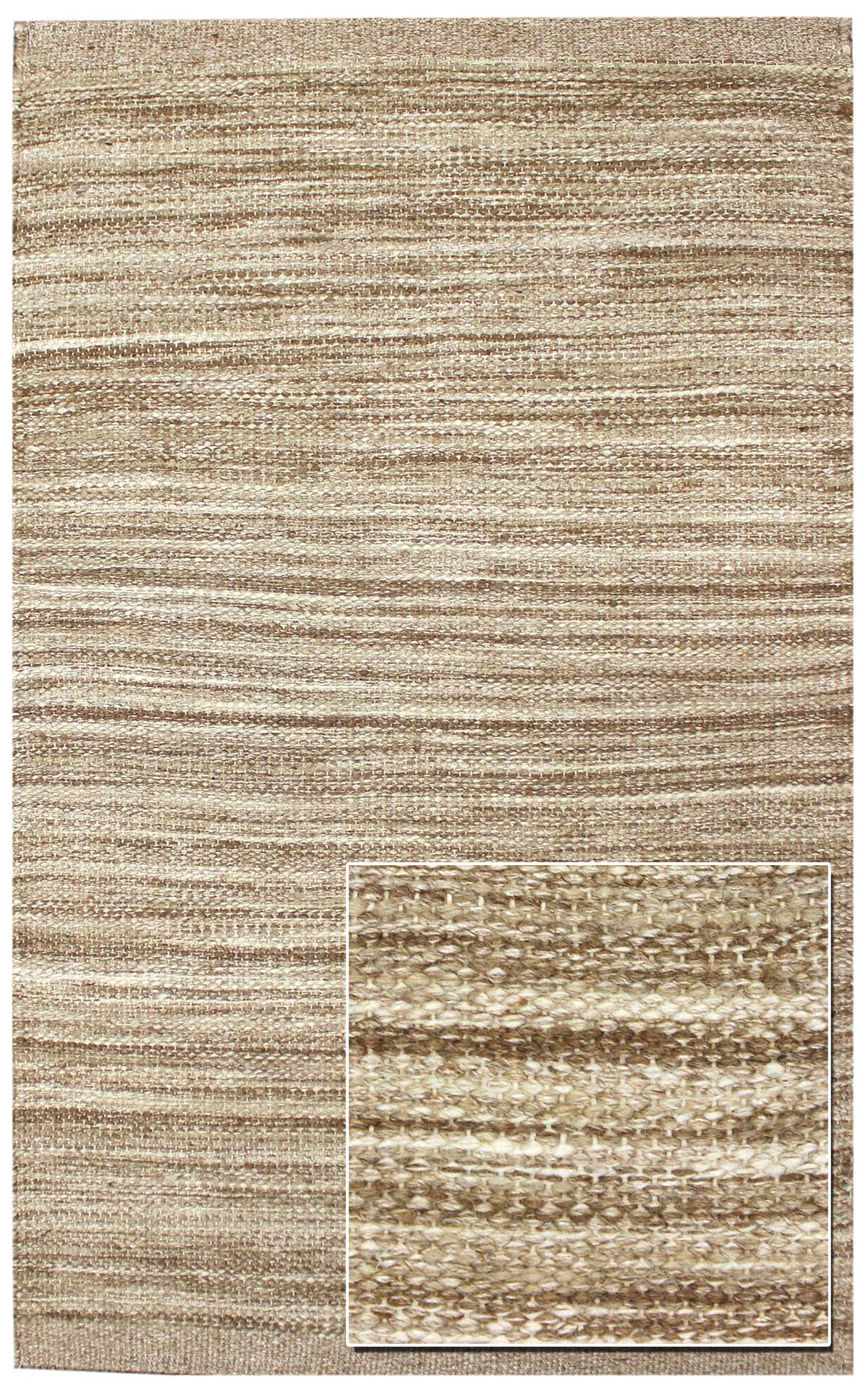 Striae Handwoven Contemporary Rug