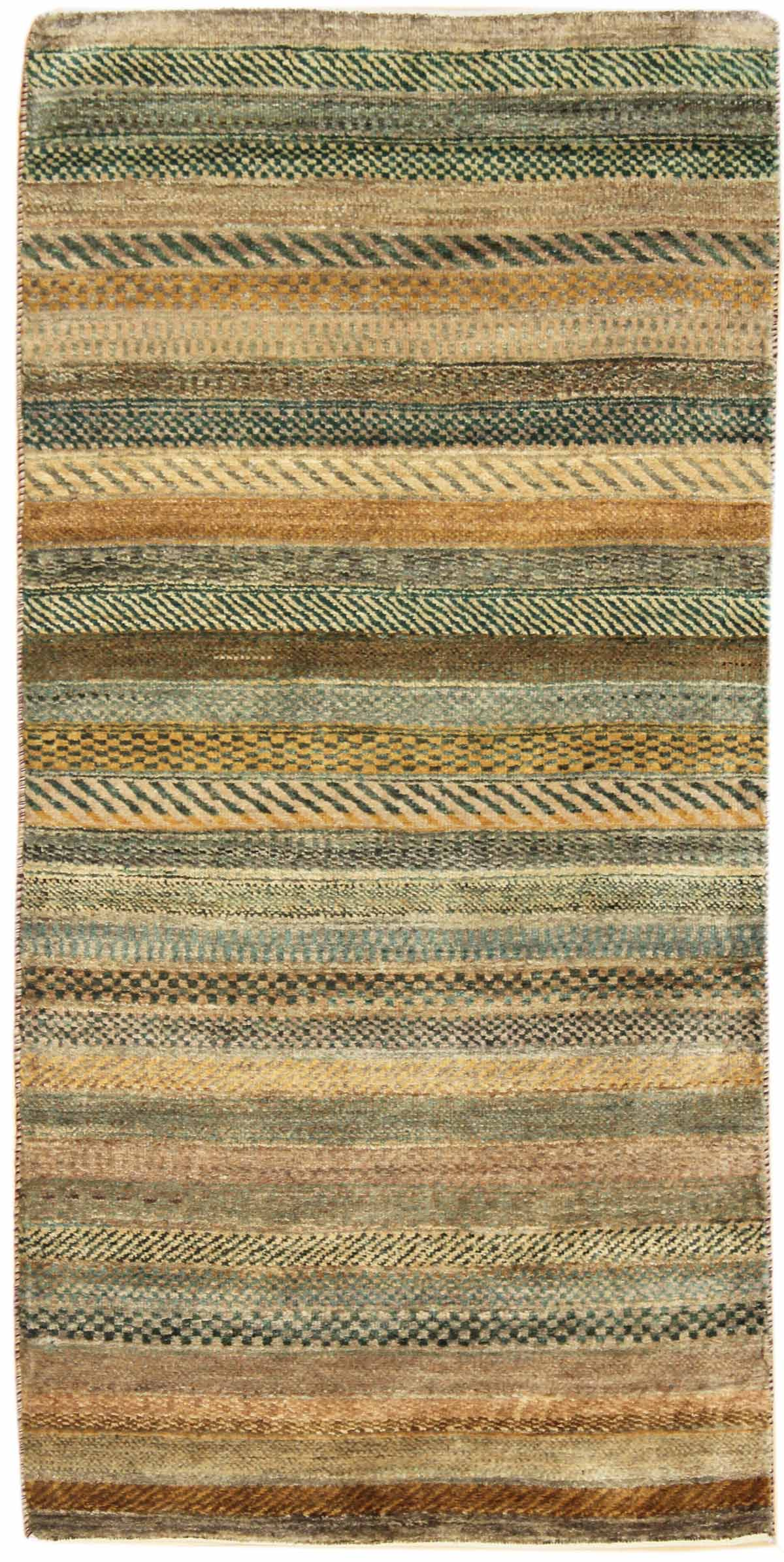 Stripes Handwoven Contemporary Rug