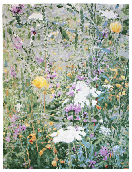 Wild Flowers Handwoven Contemporary Rug