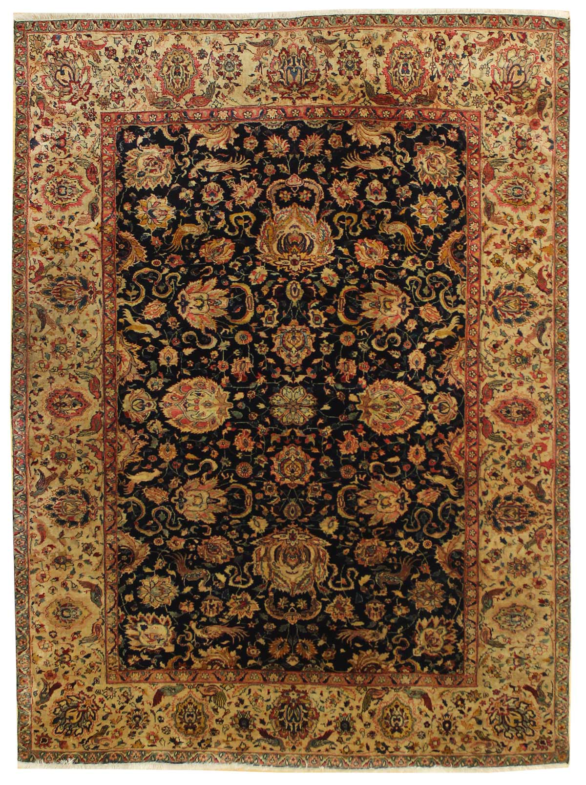 Cloud Agra Handwoven Traditional Rug
