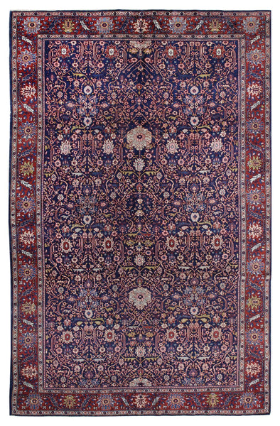 Antique Ferahan Handwoven Traditional Rug