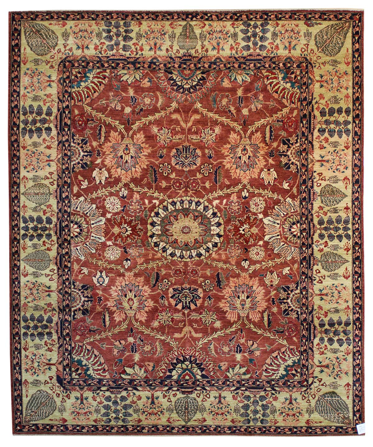 Moghul Handwoven Traditional Rug