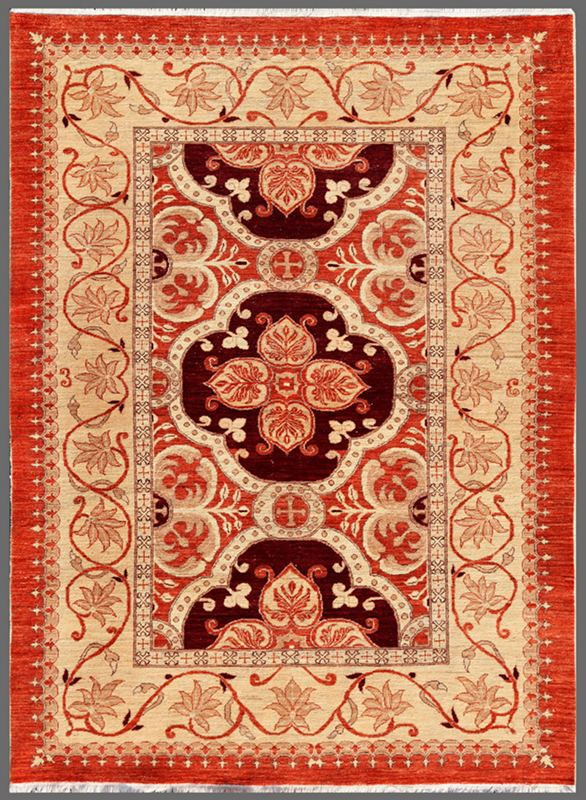 Spanish Handwoven Traditional Rug