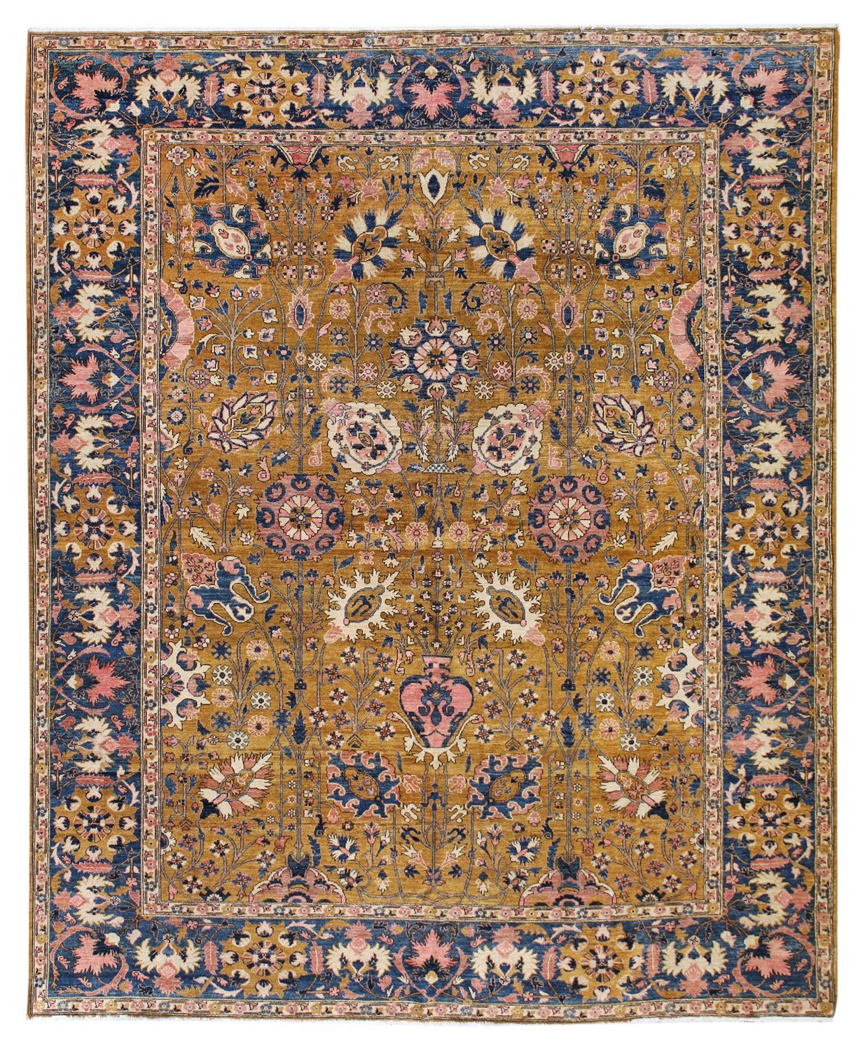 Vase Handwoven Traditional Rug