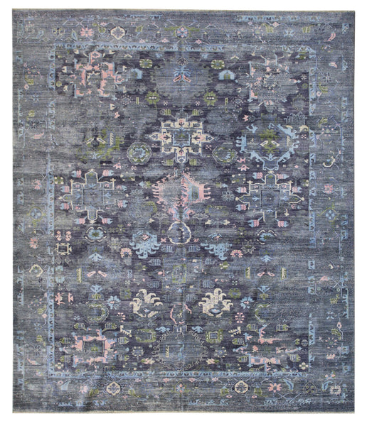 Erased Karaja Handwoven Transitional Rug