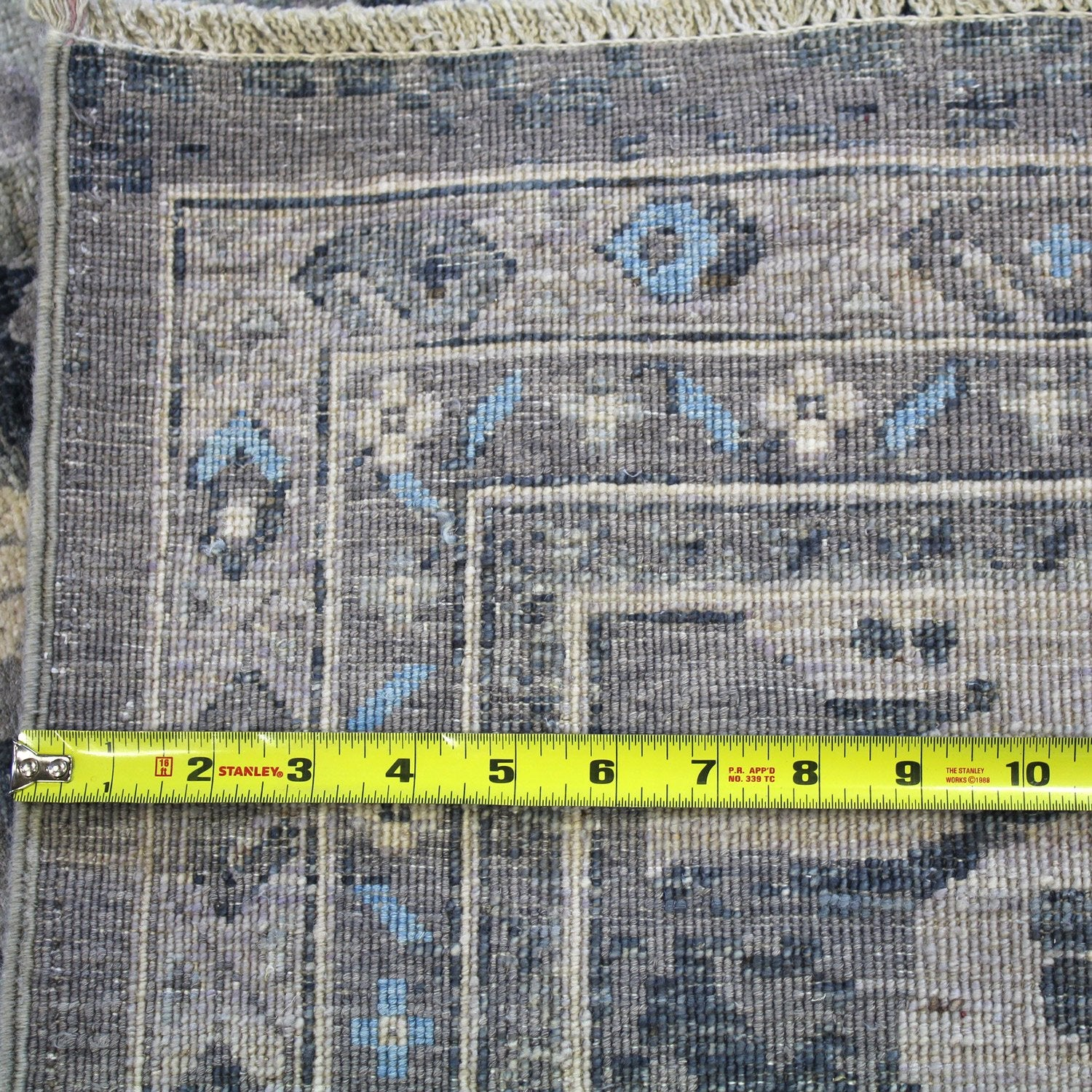 Erased Sultanabad Handwoven Transitional Rug