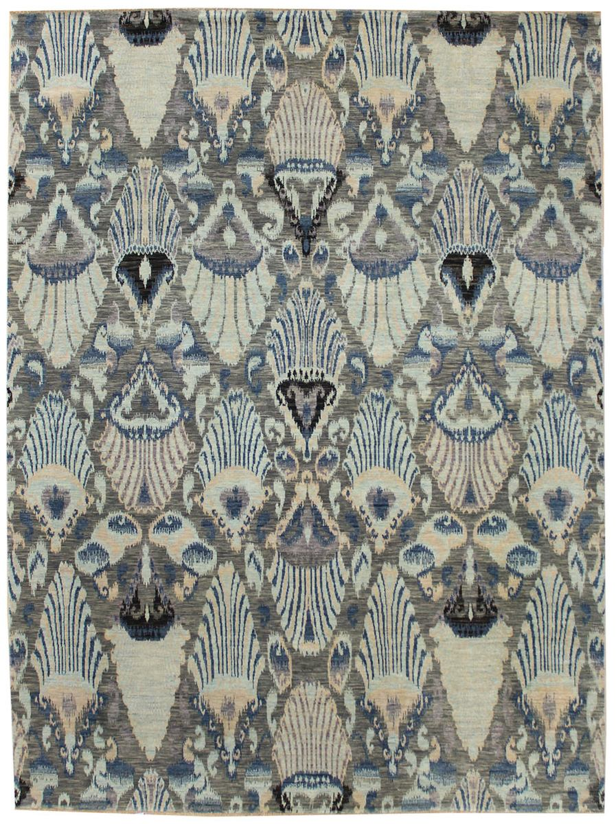 Ikat Handwoven Transitional Rug