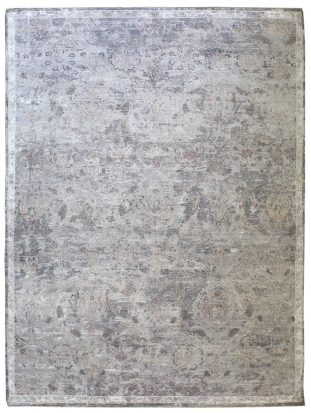 Isphahan Handwoven Transitional Rug