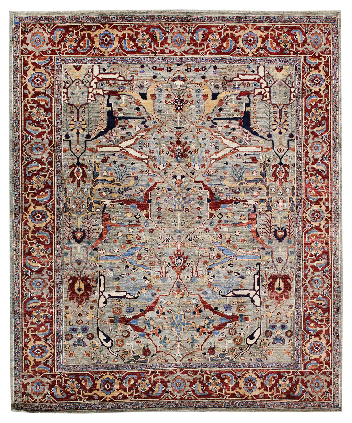 Arabesque Handwoven Tribal Rug