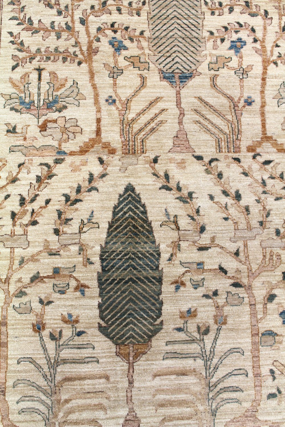 Cypress Tree Handwoven Tribal Rug