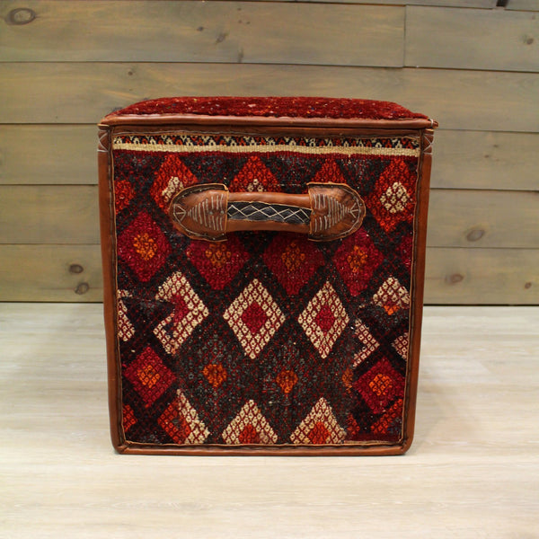Gabbeh Tribal Ottoman Trunk