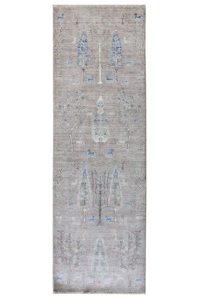Luri Trees Handwoven Tribal Rug