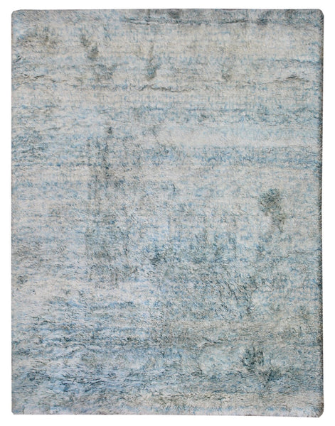 Mohair Plain Handwoven Tribal Rug