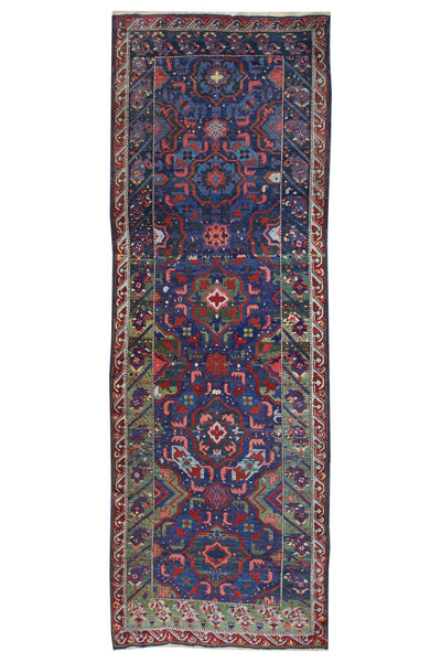 Antique Zeychoir Handwoven Tribal Rug
