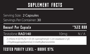 Testolon RAD140 | 60/10mg