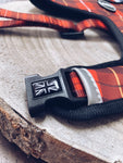 Country Tartan Dog Harness (clip)