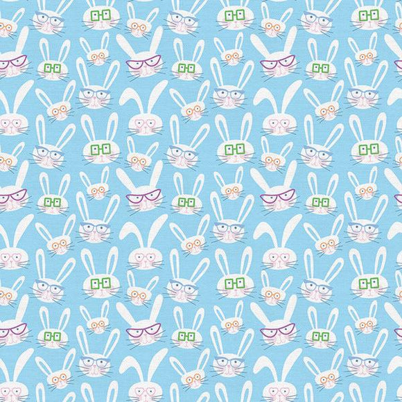 Bunny Trail - Bunnies/Glasses Blue - 120-21506