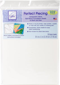 Perfect Piecing Paper