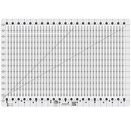 Stripology Slotted Quilting Ruler - Creative Grids