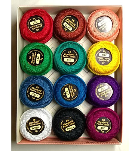 Embroidery Thread Sampler Collection