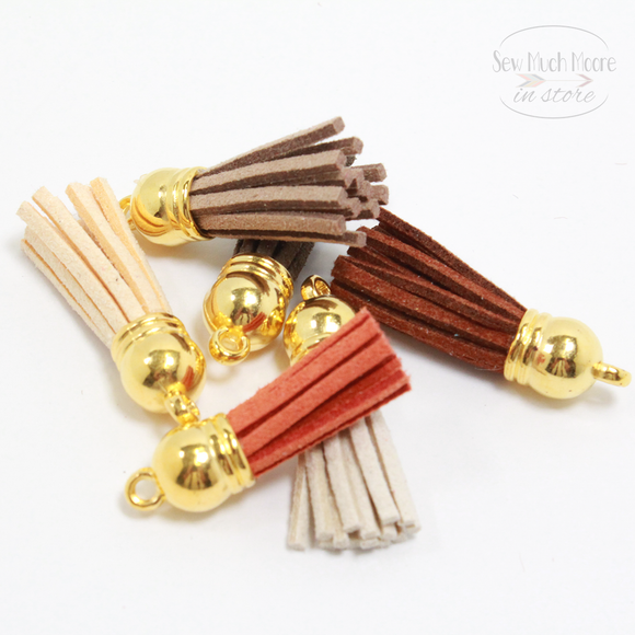 Autumn Gold Tassel