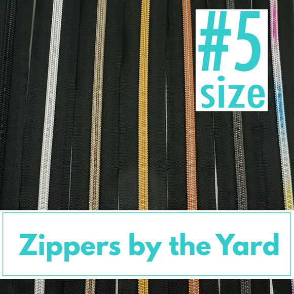 Zipper by the Yard - #5