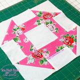 Churn Dash Quilt Block PDF Cutting Measurements