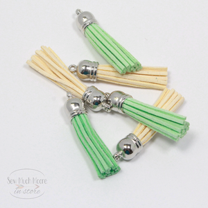 Cream Limesicle large Tassel