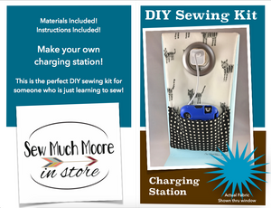 DIY Sewing Kit - Charging Station