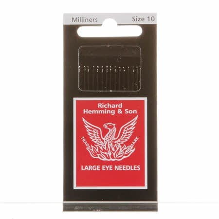 Milliners Needles - Size 10