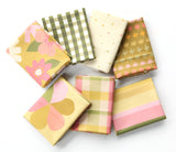 Flower Market Fat Quarter Bundle - Moss