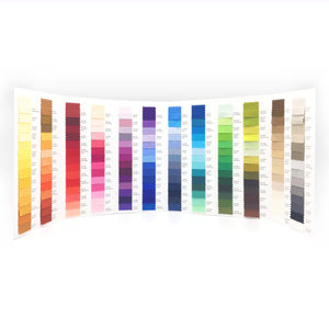 Painter's Palette Color Card