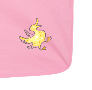 Yellow Duck - Baby Jersey Blanket