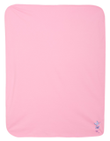 Pink Butterfly - Baby Jersey Blanket