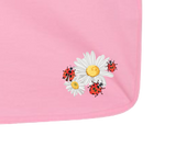 Daisies & Lady Bugs - Baby Jersey Blanket