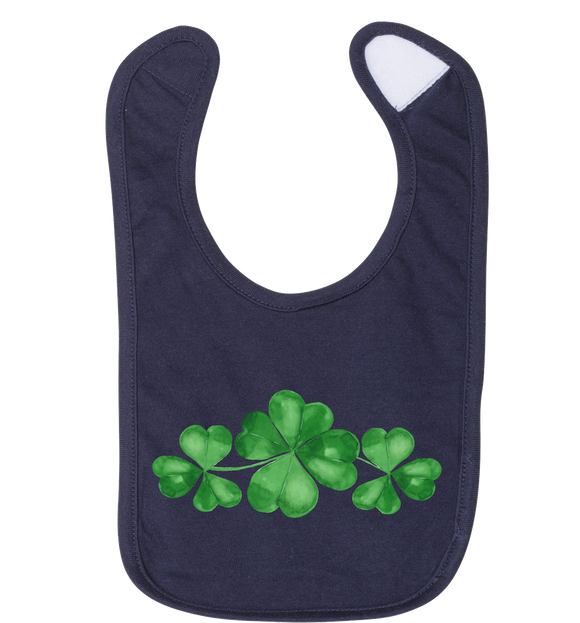 Three Clovers - Baby Jersey Bib