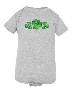 Three Clovers - Baby Onesie
