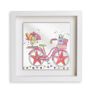Beach Bicycle Happy Frame