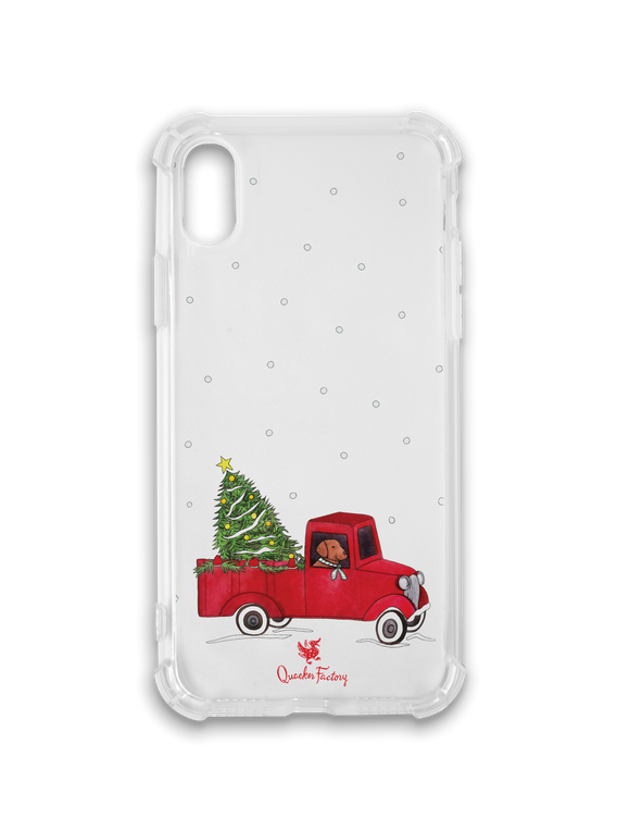 Christmas Truck Phone Case