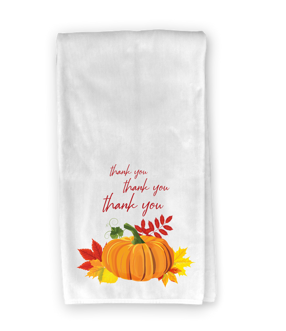 Pumpkin Thank You Kitchen Towel