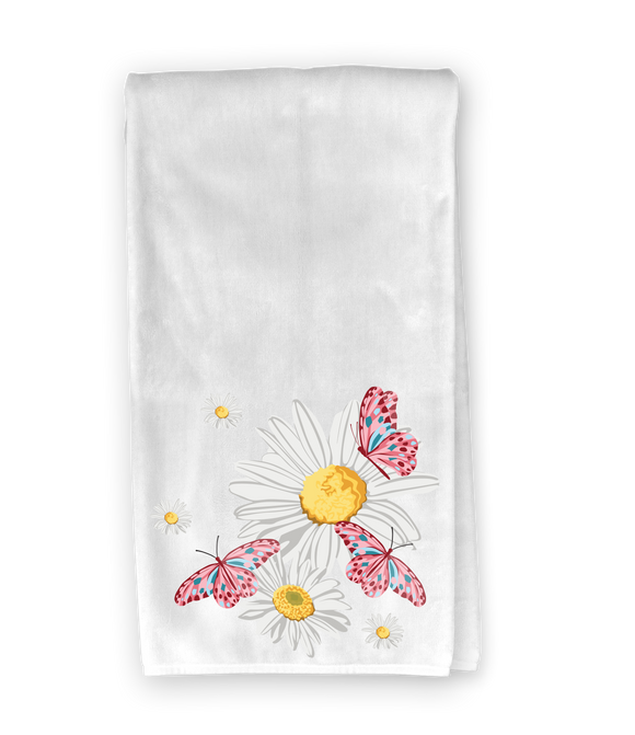 Daisies & Butterflies Kitchen Towel