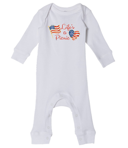 Life's a Picnic - Baby Romper