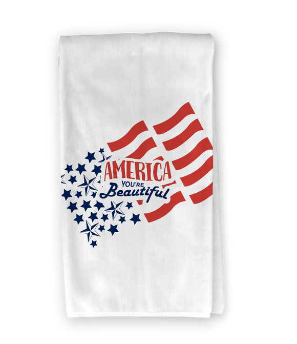 America You're Beautiful Kitchen Towel